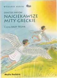 Najciekawsze mity greckie. Audiobook
