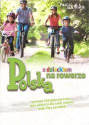 Polska z dzieckiem na rowerze,