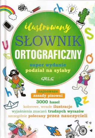 Ilustrowany słownik ortograficzny. Podział na sylaby