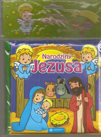 Narodziny Jezusa. Książeczka do kąpieli