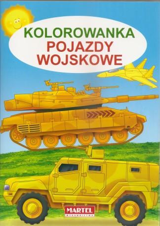 Pojazdy wojskowe, Kolorowanka