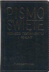 Pismo święte Nowego Testamentu i Psalmy. Skórzana oprawa - wydanie kieszonkowe