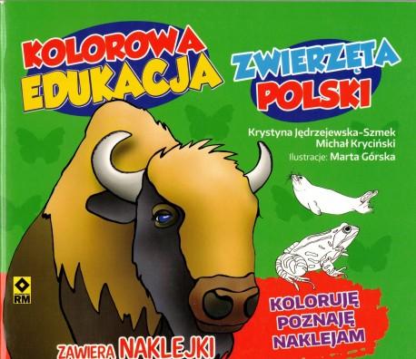 Zwierzęta Polski. Kolorowa edukacja