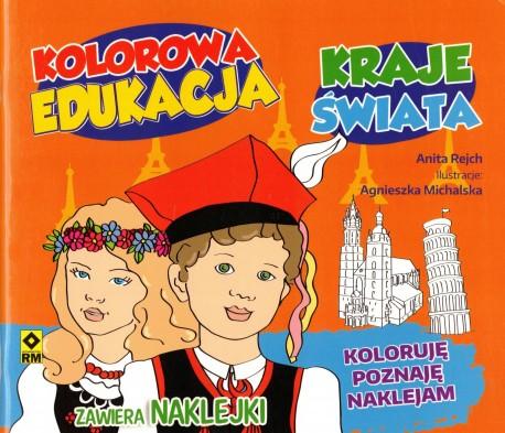 Kraje świata. Kolorowa edukacja