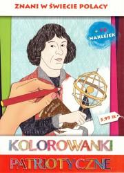 Znani w świecie Polacy. Kolorowanki patriotyczne