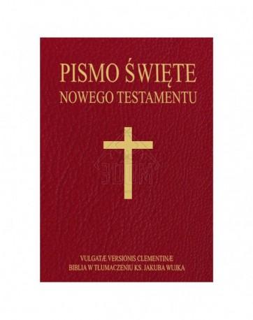 Pismo Święte Nowego Testamentu. Vulgate Versionis Clementinae oraz Biblia w tłumaczeniu ks. jakuba Wujka