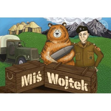 Miś Wojtek - gra planszowa